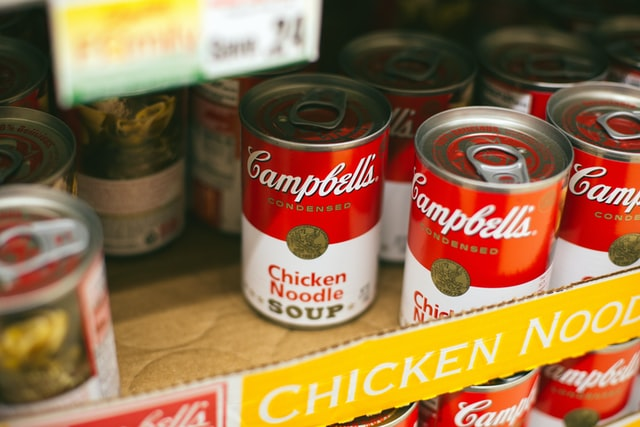 Campbell's soup una storia di neuropackaging