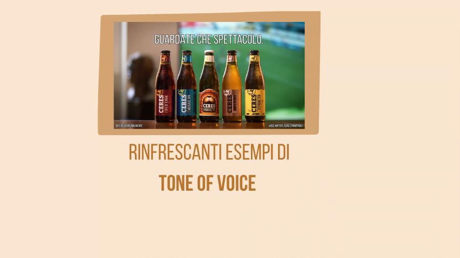 Tone of voice per la brand identity