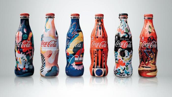arte in lattina coca cola